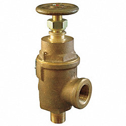 Adjustable Relief Valve, 1-1/4 In, 50 psi