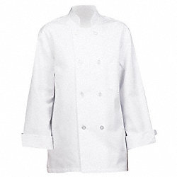 Unisex Chef Coat, M, White