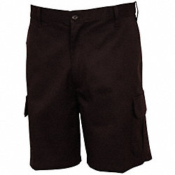Men's Cargo Shorts, 44, Black