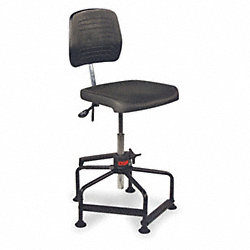 Chair, Adjustable 19 to 35In, Polyurethan