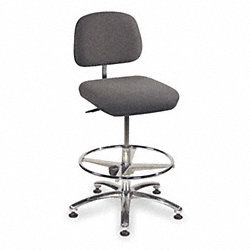 Chair, Adjustable 19 to 27In, Gray