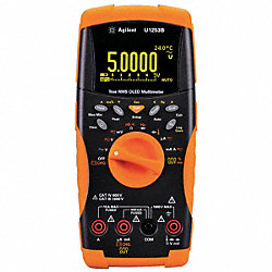 Digital Multimeter, 1000V, 10A, 500 MOhms