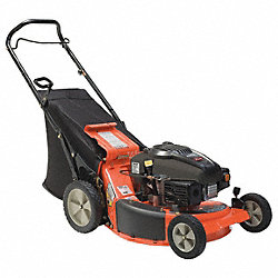 Lawn Mower, 21 In.Wide, 4.5HP, Push