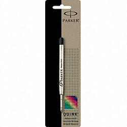 Pen Refill, Ballpoint, Black, Medium