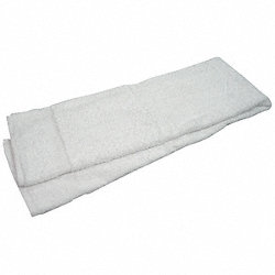 Bath Towel, 24x50 In., White, Pk 12
