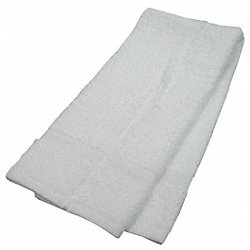 Hand Towel, 16x27 In., White, Pk 12