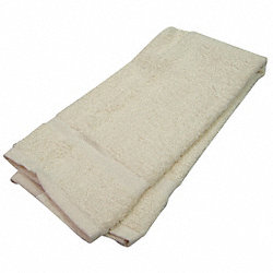 Hand Towel, 16x27 In., Beige, Pk 12
