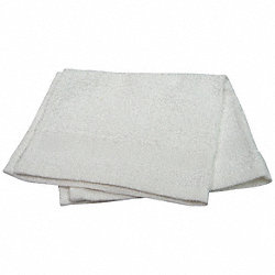 Wash Towel, 12x12 In, White, Pk 12