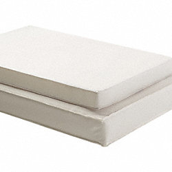 Crib Mattress, Compact, 24x38x2 In