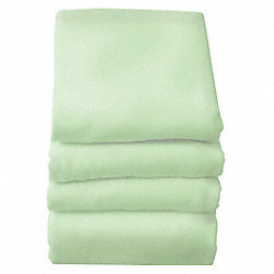 Baby Blanket, 30x40 In., Mint, Pk 6