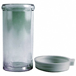 Vial with Cap, Unassembled, 25 mL, Pk 910