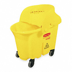 Mop Bucket and Wringer, 35 qt., Funnel