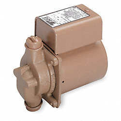 Circulator Pump, 1/40HP, 1Ph, 115V, 0.43Amp
