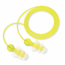 Ear Plugs, 26dB, Corded, Univ, PK100