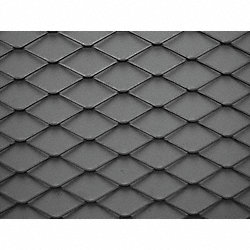 Expanded Sheet, Rsd, Carbon, 8 x 4 ft, 1-#16