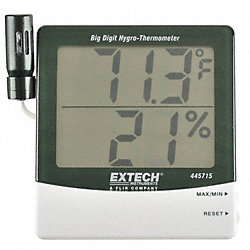 Digital Hygrometer, Remote Probe