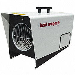 Electric Air Heater, Fan Forced, 240V, 3Ph
