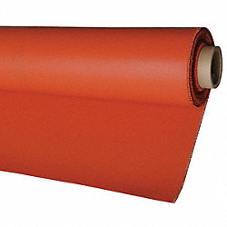 Welding Blanket, Silicone, 750 sq ft, Red
