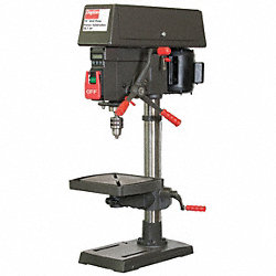 Bench Drill Press, 15 In, 1/2HP, 120/240