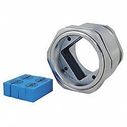 Cable Gland, 4Hole, 0.138-0.650In