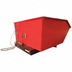 Low Profile Hopper, 2000 Lb, 1 Cu Yd