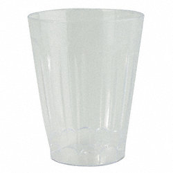 Disposable Tumbler, 12 Oz, Clear, PK 240