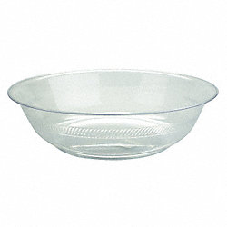 Bowl, 1 Gallon, Clear, PK24