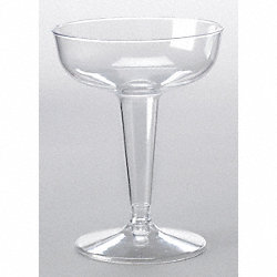 Champagne Glass, Disposable, 4 Oz, PK 500