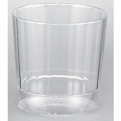 Disposable Tumbler, 8 Oz, Clear, PK 240