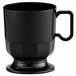 Coffee Cup, 8 Oz, Blk, PK 240