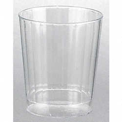 Disposable Tumbler, 7.5 Oz, Clear, PK 240