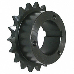 Split Taper Sprocket, #50, O D 3.315 In