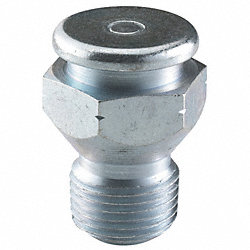 Grease Fitting, Button, 1/8-27, PK10