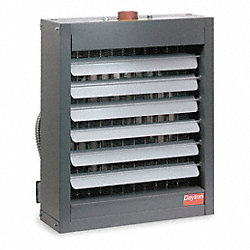 Hydronic Unit Heater, 11 In. D, 17 In. W