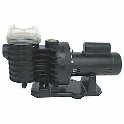 Plastic Pump, 5 HP, 3450, 230V
