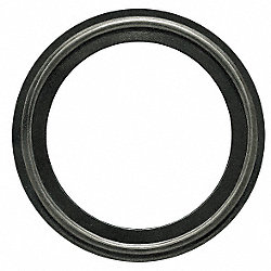 Gasket, Size 1 1/2 In, Tri-Clamp, EPDM