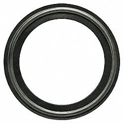 Gasket, Size 2 1/2 In, Tri-Clamp, BUNA