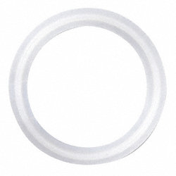 Gasket, Size 1 1/2 In, Tri-Clamp, PTFE