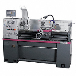 Engine Lathe w/DRO, 14x40, 3HP, 3Phase