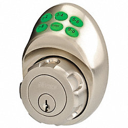 Keypad deadbolt Schlage C Satin Nickel