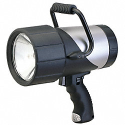 Spotlight, Rechargeable, Silver/Black