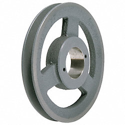 V-Belt Pulley, QD, 11.25 In OD, 1 Groove