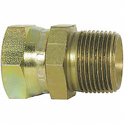 Hose Adapter, MNPT to FNPSM, Straight, Pk 5