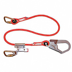 Restraint Lanyard, 6 ft., 310 lb., Rope
