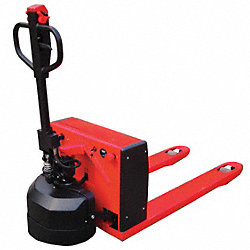 Semielectric Pallet Jack, Red