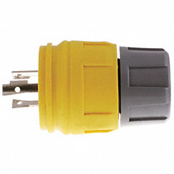 Watertight Plug, Nema L5-15P, 15A/125V