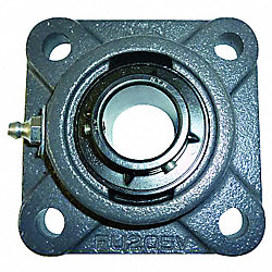Mounted Bearing, 4-Bolt Flange, 2 In