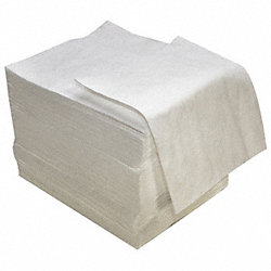 Absorbent Pads, 18 In. W, 16 In. L, PK 100