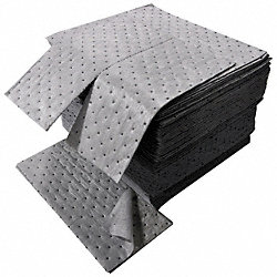 Absorbent Pads, 24 gal., 18 In. L, PK 100