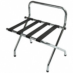 Luggage Rack, 26 1/2 H x 16 D x In., Pk 6